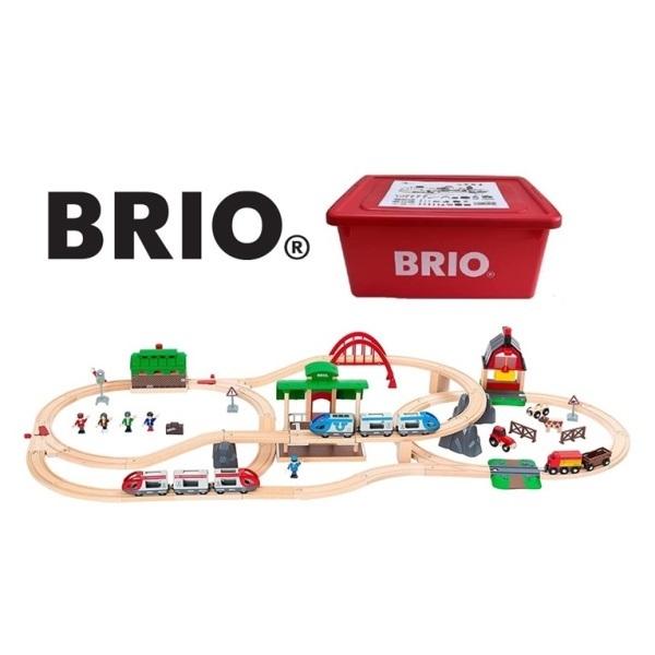 今日の商品紹介・BRIO WORLD(ブリオワールド)2021年クリスマス限定レールセットサムネイル