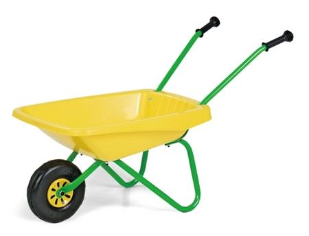 砂遊び はたらく車 ごっこ遊び rolly toys ロリートイズ 一輪車(イエロー)270873