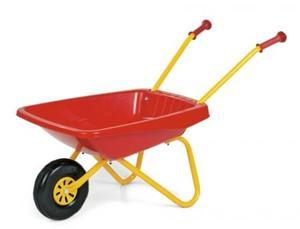 砂遊び はたらく車 ごっこ遊び rolly toys ロリートイズ 一輪車(レッド)270859