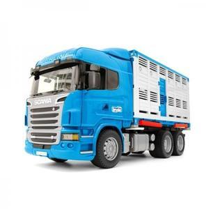 農業 はたらく車 bruder SCANIA 牛運搬トラック&牛セット BR03549