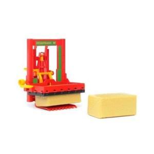 農業 酪農 BRUDER サイロブロックカッター(わらブロック2個付き)02333