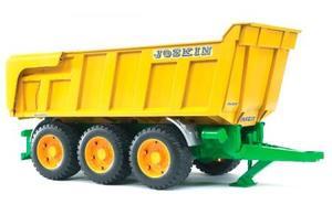 農業 はたらく車 BRUDER JOSKIN Tip トレーラー 02212