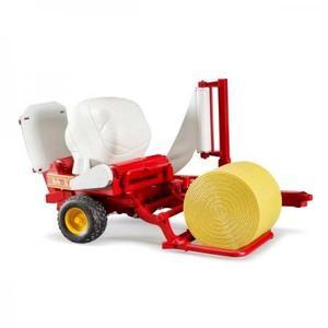 農業 はたらく車 BRUDER ベールラッパー&ベールアソートセット 02122