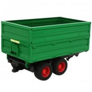農業 はたらく車 BRUDER WELGER 2段可変トレーラー 02010