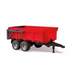 農業 はたらく車 BRUDER Tipping トレーラー(RED) 02211