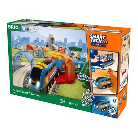汽車 レール BRIO ブリオ WORLD スマートテック サウンドDXセット 33972