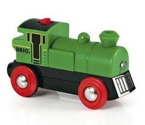 木製レール 汽車 BRIO(ブリオ)バッテリーパワー機関車 33595【電動車】