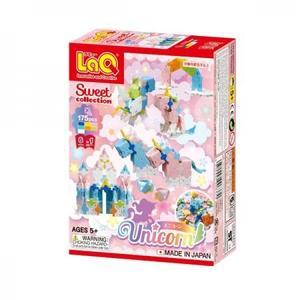 ヨシリツ ブロック 知育玩具 LaQ ラキュー スイートコレクション ユニコーン L6370