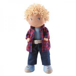布のおもちゃ 人形 HABA ハバ ソフトドール ニック 30cm HA302843