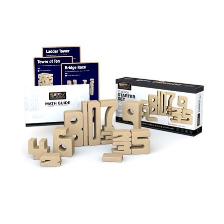 積み木 木のおもちゃ 知育 Sumblox(サムブロックス)スターターセット SBX-001