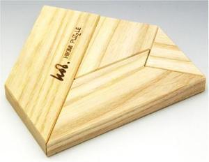 日本製 匹見パズル 木製パズル The T