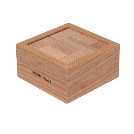 木のおもちゃ パズル 日本製 匹見パズル 木製パズル テトラ