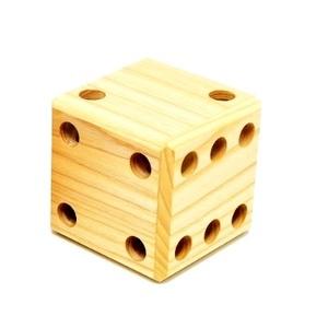 木のおもちゃ 日本製 匹見パズル 木製パズル サイコロ