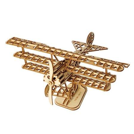 DIY つくるんです! つくろう!3Dウッドパズル 飛行機 TG301【日本語説明書付き】