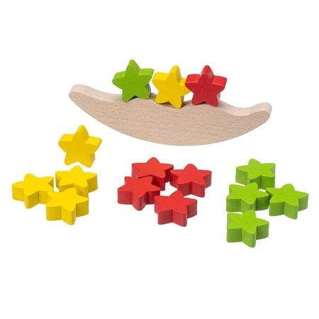 平和工業 木のおもちゃ バランスゲーム ムーン&スター K-09