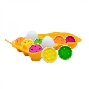 知育玩具 イギリス 形合わせ ピーターキン マッチングエッグス・カウント PK0104