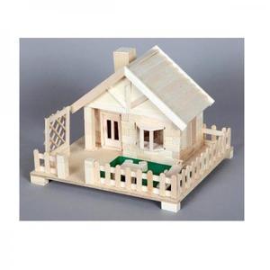 木工工作キット 加賀谷木材 芝生のある家 貯金箱