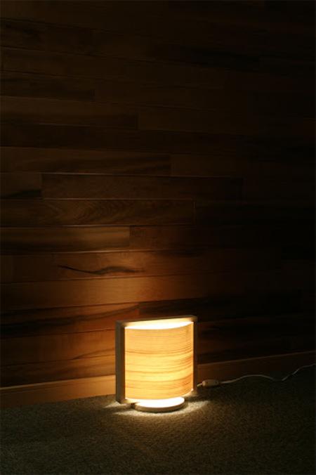 木工工作キット 加賀谷木材 経木アート あかりシリーズ 木の葉(S)