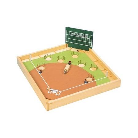木工工作キット 加賀谷木材 野球ゲーム 2200449