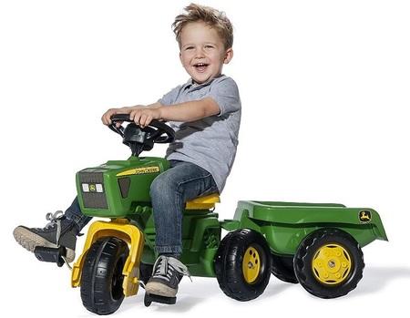 乗用玩具 トラクターrolly toys ロリートイズ John Deere ジョンディアートライク