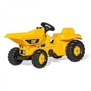 乗用玩具 トラクター rolly toys ロリートイズ ダンパーキッズ CAT 024179