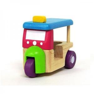 木のおもちゃ 車 PLANTOYS プラントイ Tuk Tuk(トゥクトゥク)5443