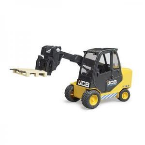 車のおもちゃ はたらく車 bruder ブルーダー JCBフォークリフト(パレット付き)02512