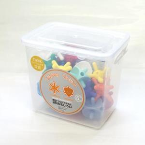ブロック 知育玩具 日本製 つのつのサイコロ&テトラ21ボックス T-TE21