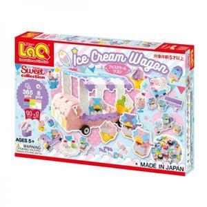 ヨシリツ ブロック LaQ ラキュー スイートコレクション アイスクリームワゴン L6950