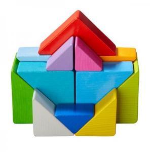 木のおもちゃ 積木 ドイツ 知育 HABA ハバ タングラムブロック HA305778