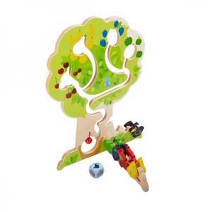 木のおもちゃ 積木 ドイツ 知育 HABA ハバ ロールバーン・果樹園 HA303821