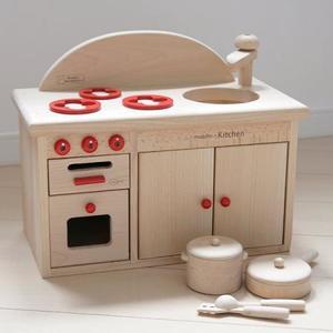 木のおもちゃ ままごと キッチン だいわ ミドルキッチンセット 97980