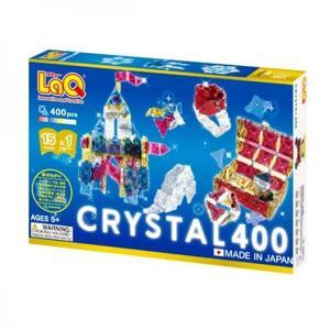 ヨシリツ ブロック 知育玩具 LaQ ラキュー クリスタル 400 L005632
