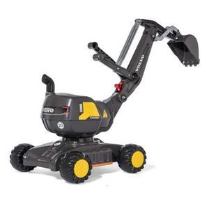 乗用おもちゃ rolly toys ロリートイズ ディガー VOLVO GREY RT421152