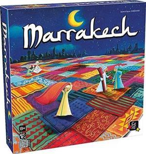 ボードゲーム Gigamic ギガミック Marrakech (マラケシュ)