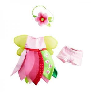 布のおもちゃ 人形 HABA ハバ 着せ替えセット・フラワーフェアリー30cmドール用 HA3032