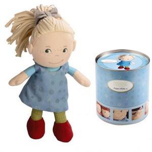 布のおもちゃ 人形 HABA ハバ 缶入りドール おすましミレ HA5738
