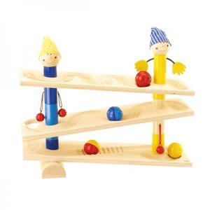 木のおもちゃ スロープトイ HABA ハバ ボールトラック・ローリー HA1132