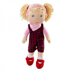 布のおもちゃ 人形 HABA ハバ ソフトドール ゾエ 30cm HA303665