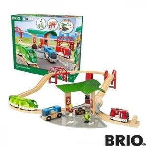 汽車 レール BRIO ブリオ WORLD トラベルステーションセット33627