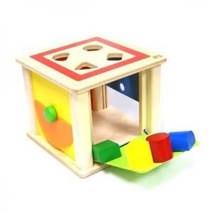 木のおもちゃ 知育玩具 SELECTA セレクタ トリダスボックス SE62019