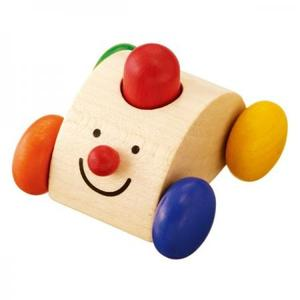 木のおもちゃ ベビー SELECTA セレクタ クラクションカー SE61039