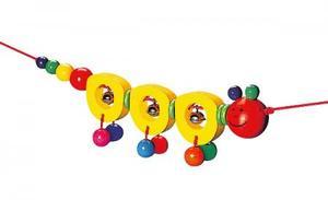 木のおもちゃ ベビーおもちゃ SELECTA セレクタ ペンドリー・いも虫 SE61041