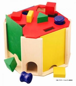 木のおもちゃ 知育玩具 形合わせ SELECTA セレクタ クアトリノ SE62015