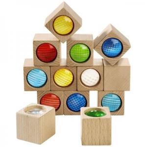 木のおもちゃ 積木 HABA ハバ ブロック・プリズムセット HA3531