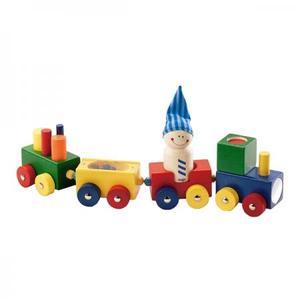 木のおもちゃ 積木 HABA ハバ よちよちトレイン HA1197