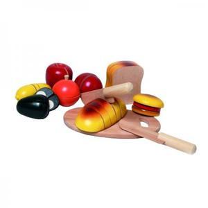 木のおもちゃ ままごと NIC ニック カッティング・ブレッド NC65050