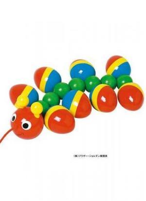 ベビー 木のおもちゃ プルトイ NIC(ニック ) WALTER むかで NC63163