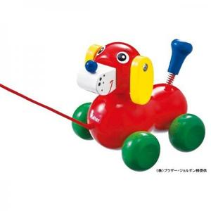 木のおもちゃ プルトイ NIC(ニック社 )いぬのヴァルディ NC63651