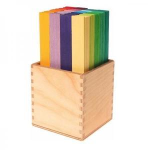 木のおもちゃ 積み木 GRIMM'S グリムス カラースティック GM40367